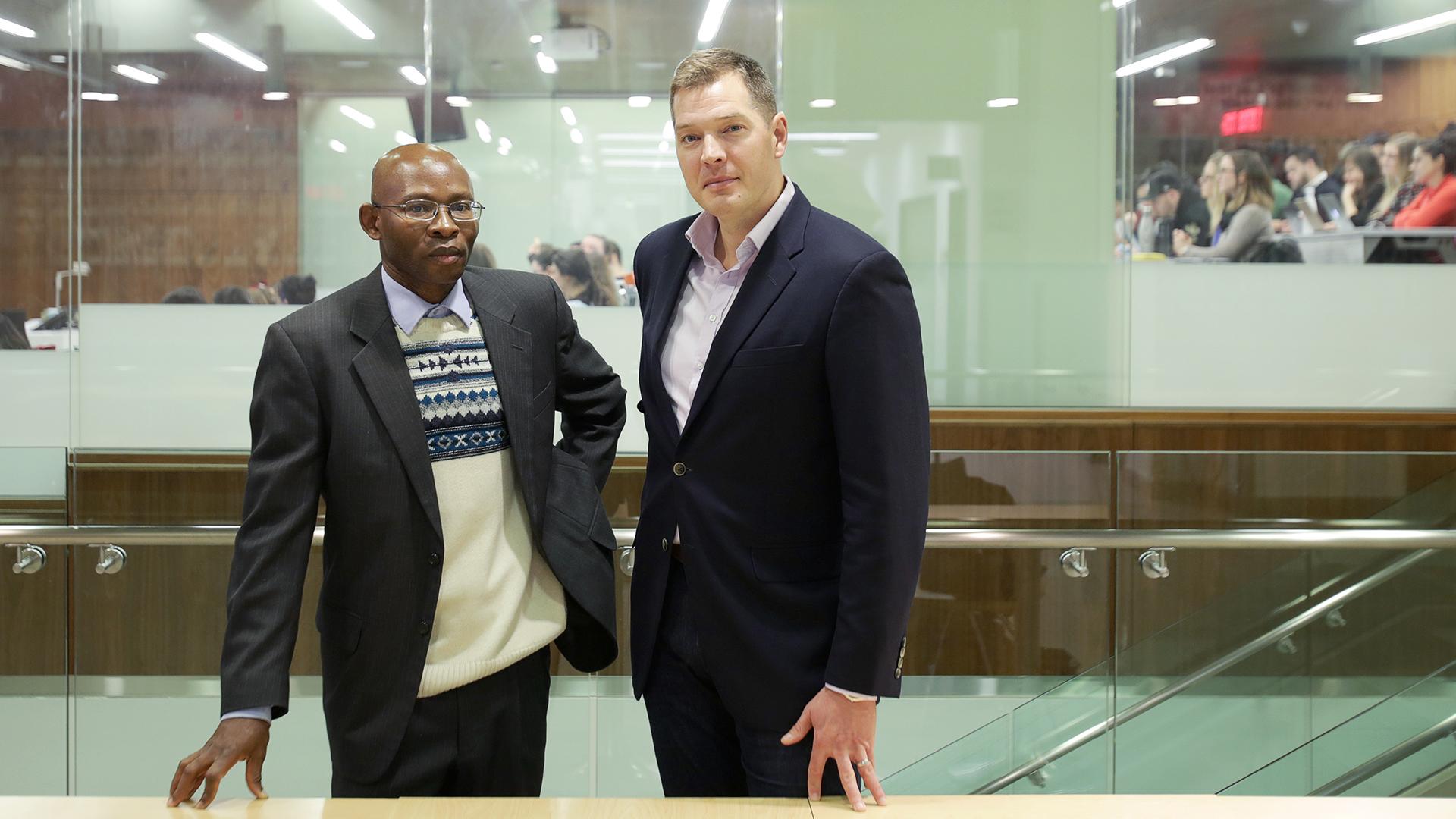 Chidi Oguamanam et Jeremy de Beer