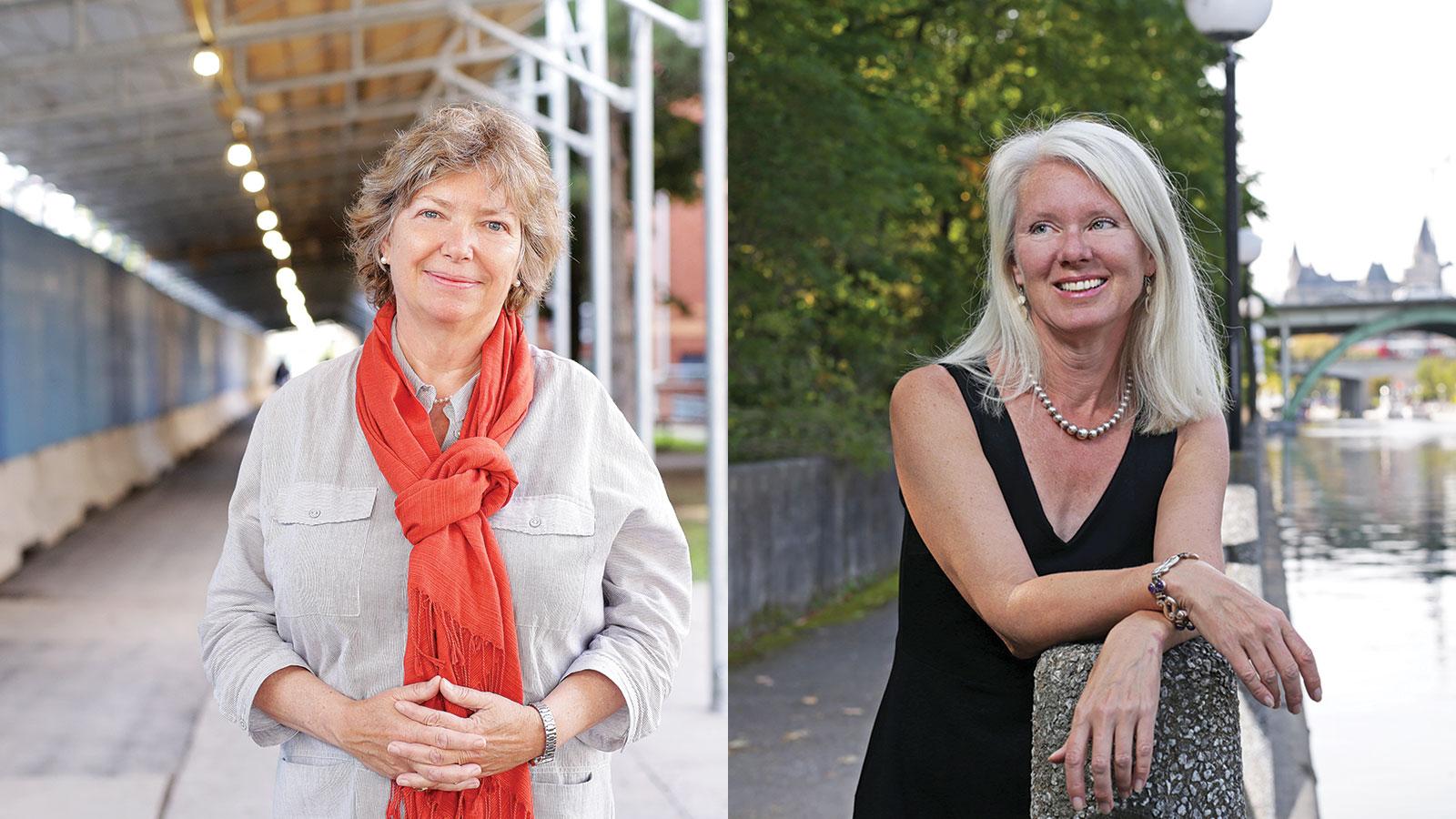 Katherine Lippel and Lori Beaman
