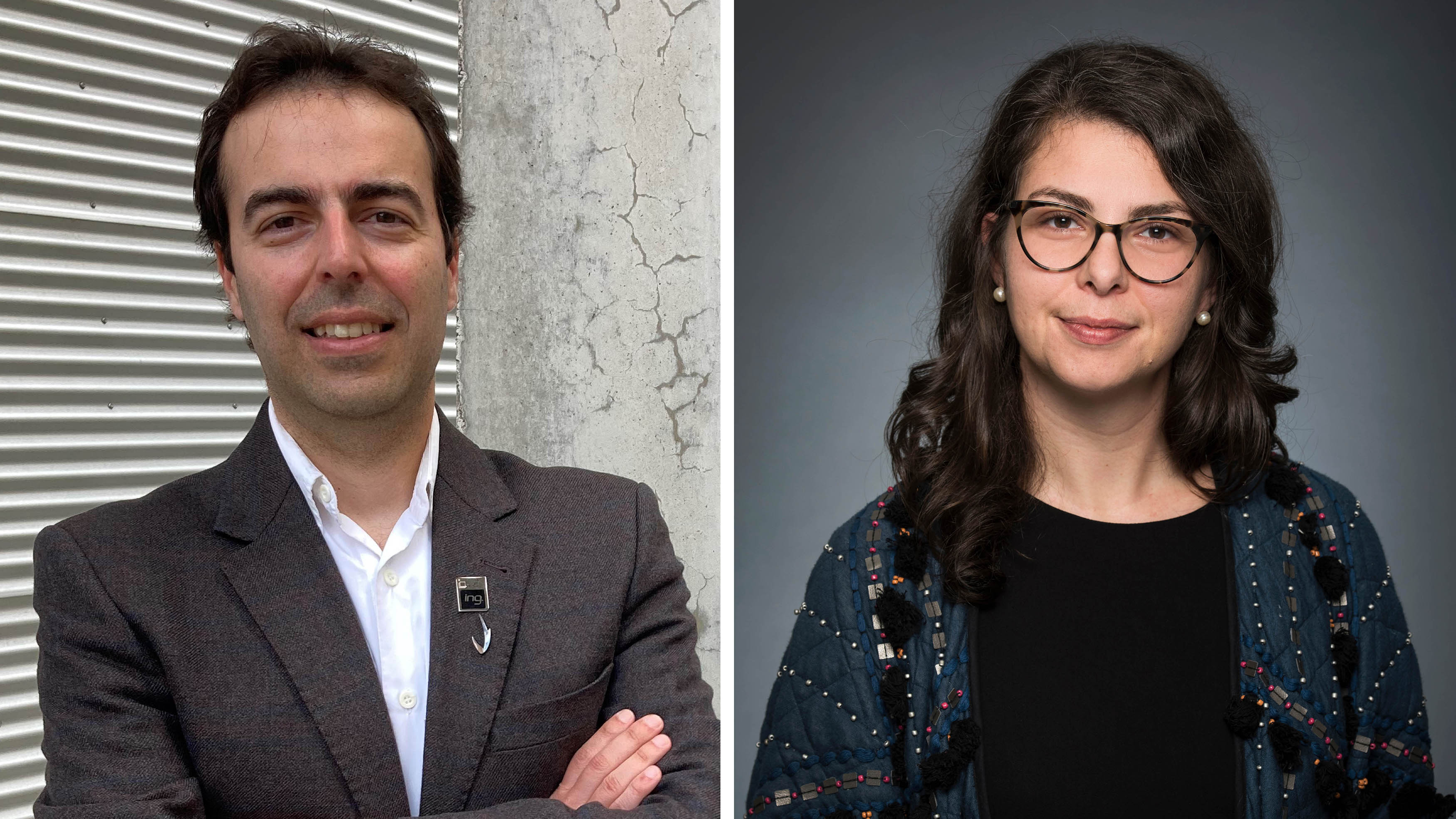 Leandro Sanchez and Alice Zwerling